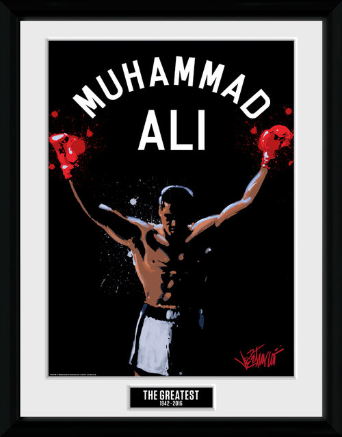 Muhammad Ali The Greatest Framed Collector Print