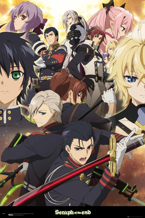 Seraph Of The End Group Maxi Poster