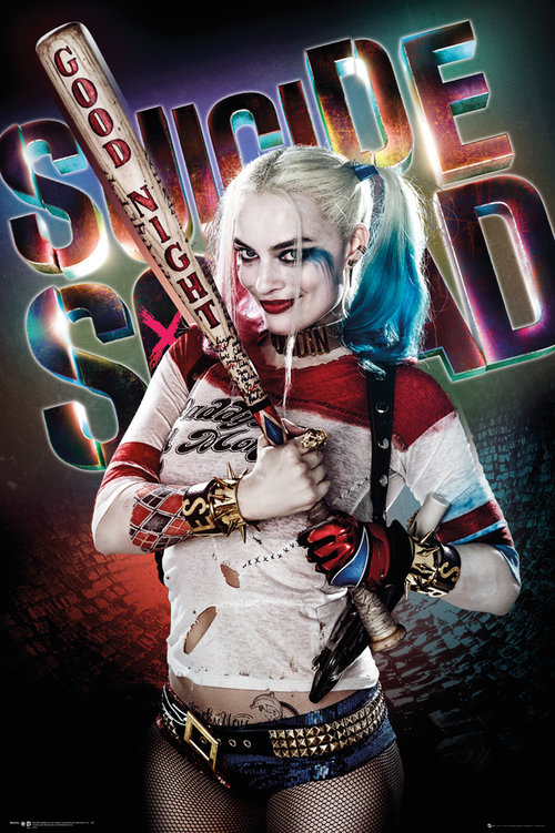 Suicide Squad Harley Quinn Good Night Maxi Poster