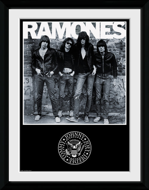 Ramones Album Framed Collector Print