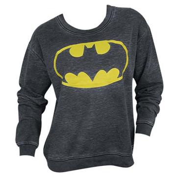 Official BATMAN Classic Logo Juniors Sweatshirt  Buy Online on Offer fef542180ffb1