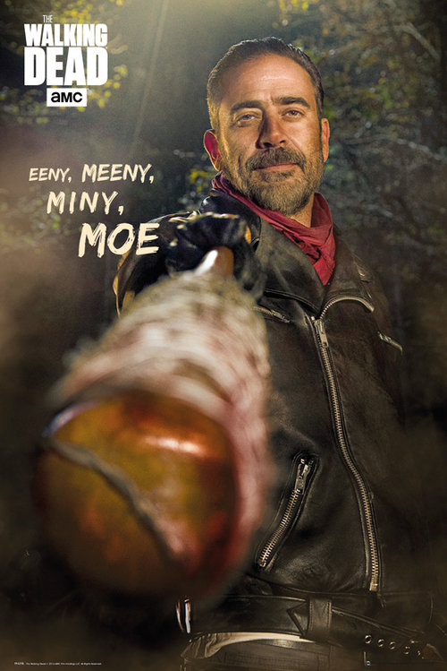 The Walking Dead Negan Maxi Poster