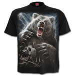 Bear Claws - T-Shirt Black