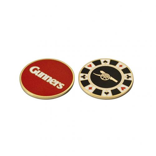 Arsenal F.C. Casino Chip Ball Marker