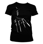 Nightmare on Elm Street Ladies T-Shirt Freddy Krueger