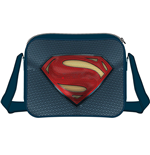 DC COMICS Batman vs Superman: Dawn of Justice Superman Logo Messenger Bag, Multi-Colour