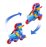 PAW PATROL 2-in-1 Tri to Inline Roller Skates, Size 9-11.5