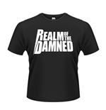 Realm Of The Damned T-shirt White Logo