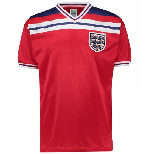 Score Draw England 1982 Away Shirt