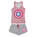 CAPTAIN AMERICA Women's Tank And Underwear Set