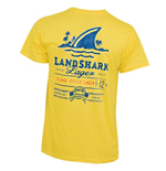 LANDSHARK Yellow Men's Painted Tee Shirt