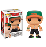 WWE Wrestling POP! WWE Vinyl Figure John Cena Green Cap 9 cm