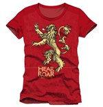 Game of Thrones T-Shirt Lannister Hear Me Roar