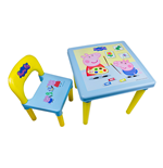 PEPPA PIG Activity IML Printed Table & Chair Set