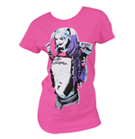 Suicide Squad HARLEY QUINN Pink Tee Shirt