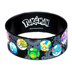 POKEMON Multi-Colored Pokeball Rubber Bracelet