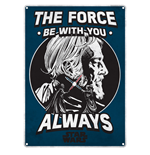 Star Wars Metal Sign - The Force