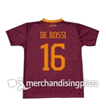 AS Roma 2016/17 Home Jersey De Rossi 16 Replica