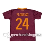 AS Roma 2016/17 Home  Jersey Florenzi 24 Replica