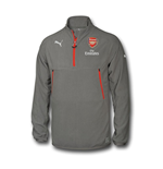 2016-2017 Arsenal Puma Training Fleece (Grey)