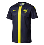 2016-2017 Arsenal Puma Stadium Jersey (Peacot-Yellow) - Kids
