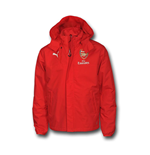 2016-2017 Arsenal Puma Performance Rain Jacket (Red)