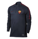 2016-2017 AS Roma Nike Training Drill Top (Obsidian)