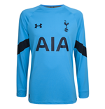 2016-2017 Tottenham Home Goalkeeper Shirt (Capri) - Kids
