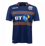 2016-2017 Scotland 7s Poly Home Rugby Shirt (Kids)