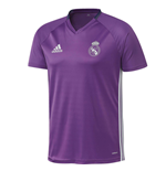 2016-2017 Real Madrid Adidas Training Shirt (Purple) - Kids