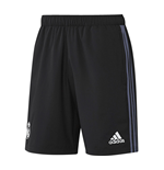 2016-2017 Real Madrid Adidas Woven Shorts (Black)