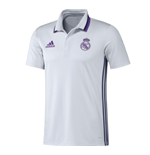 2016-2017 Real Madrid Adidas Polo Shirt (White)