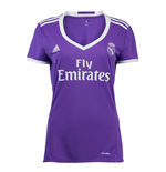 2016-2017 Real Madrid Adidas Womens Away Shirt