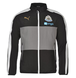 2016-2017 Newcastle Puma Leisure Jacket (Black)
