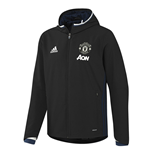 2016-2017 Man Utd Adidas Presentation Jacket (Black)