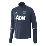 2016-2017 Man Utd Adidas Training Top (Mineral Blue)