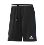 2016-2017 Man Utd Adidas Training Shorts (Black)