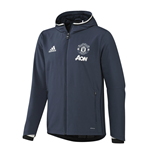 2016-2017 Man Utd Adidas Presentation Jacket (Mineral Blue) - Kids