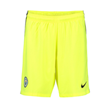 2016-2017 Man City Home Nike Goalkeeper Shorts (Volt) - Kids