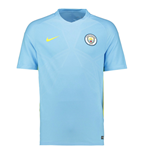 2016-2017 Man City Nike Squad Training Shirt (Blue) - Kids
