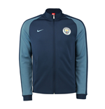 2016-2017 Man City Nike Authentic N98 Jacket (Navy) - Kids