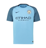 2016-2017 Man City Home Nike Football Shirt (Kids)