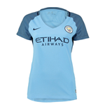 2016-2017 Man City Home Nike Ladies Shirt