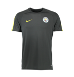 2016-2017 Man City Nike Squad Training Shirt (Dark Grey)