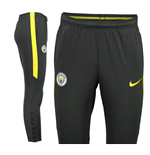 2016-2017 Man City Nike Squad Training Pants (Dark Grey)