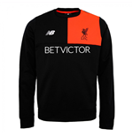 2016-2017 Liverpool Elite Training Sweat Top (Black)