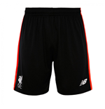 2016-2017 Liverpool Knitted Training Shorts (Black) - Kids