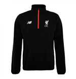 2016-2017 Liverpool Half Zip Windblocker (Black)