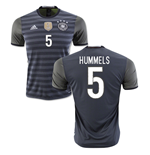 2016-2017 Germany Away Shirt (Hummels 5) - Kids