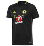 2016-2017 Chelsea Adidas Training Jersey (Black)